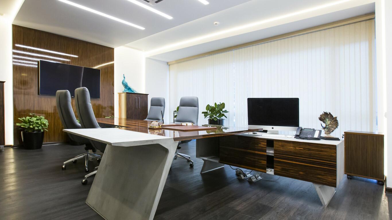 фото дорогих офисов даже небольшой тумбы